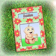 Papiernictvo - Dieťa jari - zápisník 1 - 6465959_