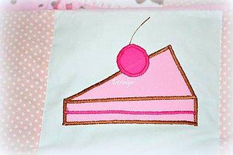 Textil - Prehoz do postieľky z kolekcie Cup Cake 120x60cm - 6470987_