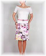 Sukne - Sukně krásná riflovina vz.333 - 6468569_