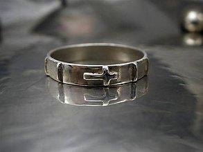 Šperky - ruženec- pánsky prsteň- ag 925 - 6469527_