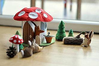 Hračky - Príbehy z lesa - 6468327_