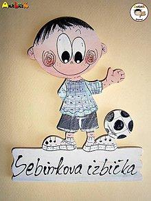 Tabuľky - Menovka - fudbalista - 6468600_