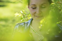 Náhrdelníky - Náhrdelník Lesnej víly - 6471738_