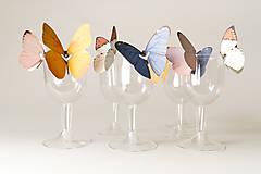 Dekorácie - Svadobné dekorácie / Na krídlach motýľov - 6471540_
