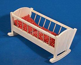 Hračky - Kolíska pre bábiky - 6472188_