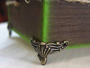 Komponenty - Kovové nohy krabíc-INKA - 6469055_