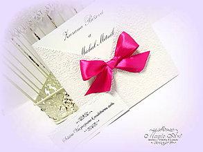 Papiernictvo - Svadobné oznámenie \