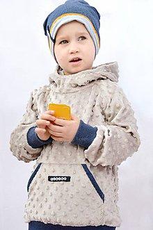 Detské oblečenie - Minky mikina s menom...alebo farbu si vyber! - 6468545_