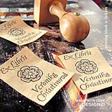 Drobnosti - Ornament: pečiatka 3x4 cm - 6473149_