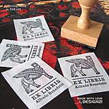 Drobnosti - Lamassu: pečiatka 3x4 cm - 6473240_
