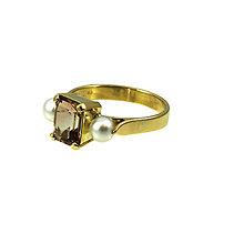 Prstene - Topásové pohladenie. - 6472294_