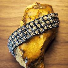 Náramky - Náramok Crystal/Hematite - 6471048_