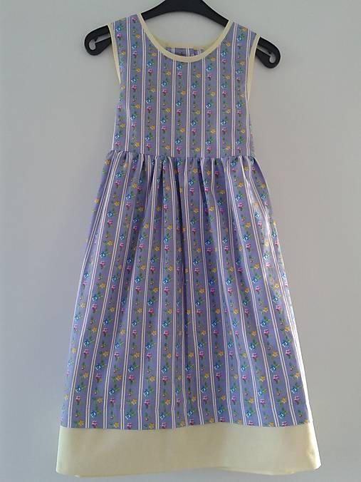 0eff8a1d8a5a Letné šaty kvietkované V - 122   dievcatkovo - SAShE.sk - Handmade ...