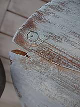 Dekorácie - Modré vintage rybky - 6475036_