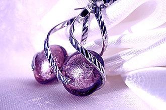 Náušnice - Náušnice staroružové - špirálky a vinutky - 6474596_