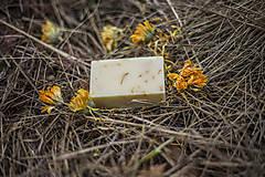 Drogéria - Rajská záhrada, PríRODné citrusové mydlo s nechtíkovými lupienkami - 6474847_