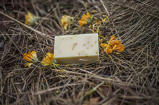 Rajská záhrada, PríRODné citrusové mydlo s nechtíkovými lupienkami a rakytníkom