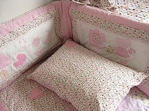 Textil - ružové pohladenie - 6473627_