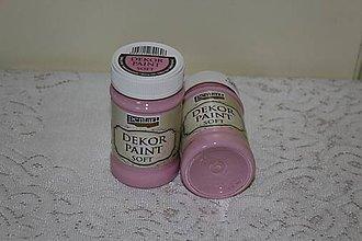 Farby-laky - Decor Paint Soft 100ml - babyružová - 6475547_