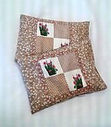 Úžitkový textil - Pohánkovo-špaldový vankúšik - bylinky - 6474787_