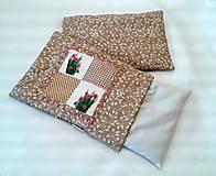 Úžitkový textil - Pohánkovo-špaldový vankúšik - bylinky - 6474788_