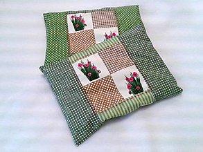 Úžitkový textil - Pohánkovo-špaldový vankúšik - Bio - 6474765_