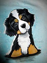 maľovaný psík