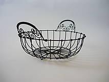 Košíky - Košík - misa 1 - 6480060_