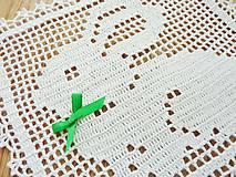 Úžitkový textil - Veľkonočná filetová - 6479436_