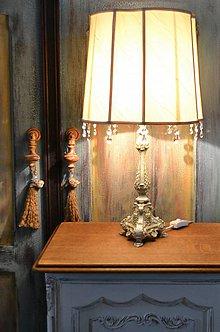 Svietidlá a sviečky - Lampa Romance - 6485670_