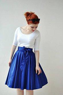 Sukne - Kolová sukně s mašlí Swing it! - 6486962_
