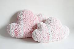 Úžitkový textil - Obláčkový polštář velký - 6483584_