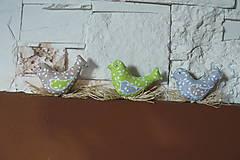 Dekorácie - Vtáčatká v hniezde - 6484466_