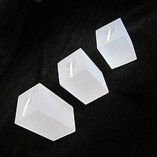 Pomôcky/Nástroje - Stojan na prstienky, kubus 3ks / plexisklo - 6486007_