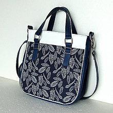Veľké tašky - Big Sandy - Tmavomodrá s pierkami - 6487911_
