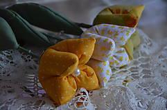 Dekorácie - Tulipán v žltom šate - 6486916_