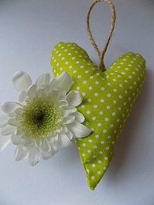Dekorácie - levanduľové srdce - 6486554_