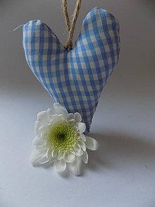 Dekorácie - levanduľové srdce - 6486571_