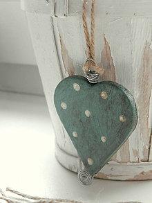 Dekorácie - Srdiečko na pohladenie duše - 6484236_