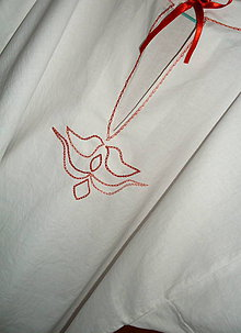 Košele - Košuľa ľudová - čvirikavá - 6492398_