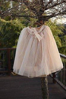 Sukne - tylová tutu sukňa dámska - 6489356_