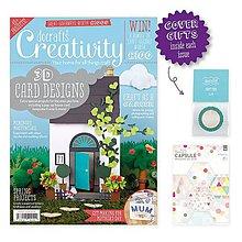Návody a literatúra - Creativity časopis č. 67 + washi + papiere + výrezy - 6490231_