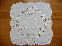 Úžitkový textil - Vianoce, prestieranie - richelieu - 6489643_