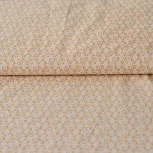 Textil - Vtáčiky na smotanovej - 6490039_