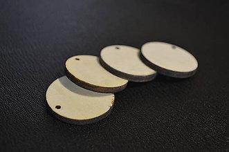Polotovary - drevený výsek - kruh 6 cm - 6488972_