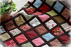"""Úžitkový textil - deka """"arbor rose"""" - 6489823_"""