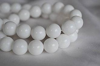 Minerály - Porcelánový jadeit 6mm, 0.09€/ks - 6491127_