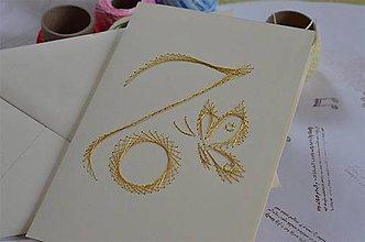 Papiernictvo - 70-tka (motýľ) - 6489892_