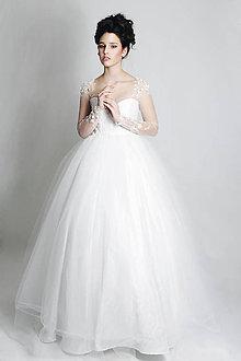 Šaty - Svadobné šaty Biela mágia - 6495646_