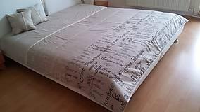 vintage prehoz na posteľ 220x220 cm